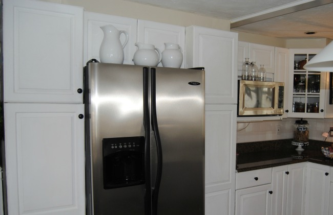 Annie Sloan Painted Kitchen Cabinets Reveal…plus more!  Our Cape on ...