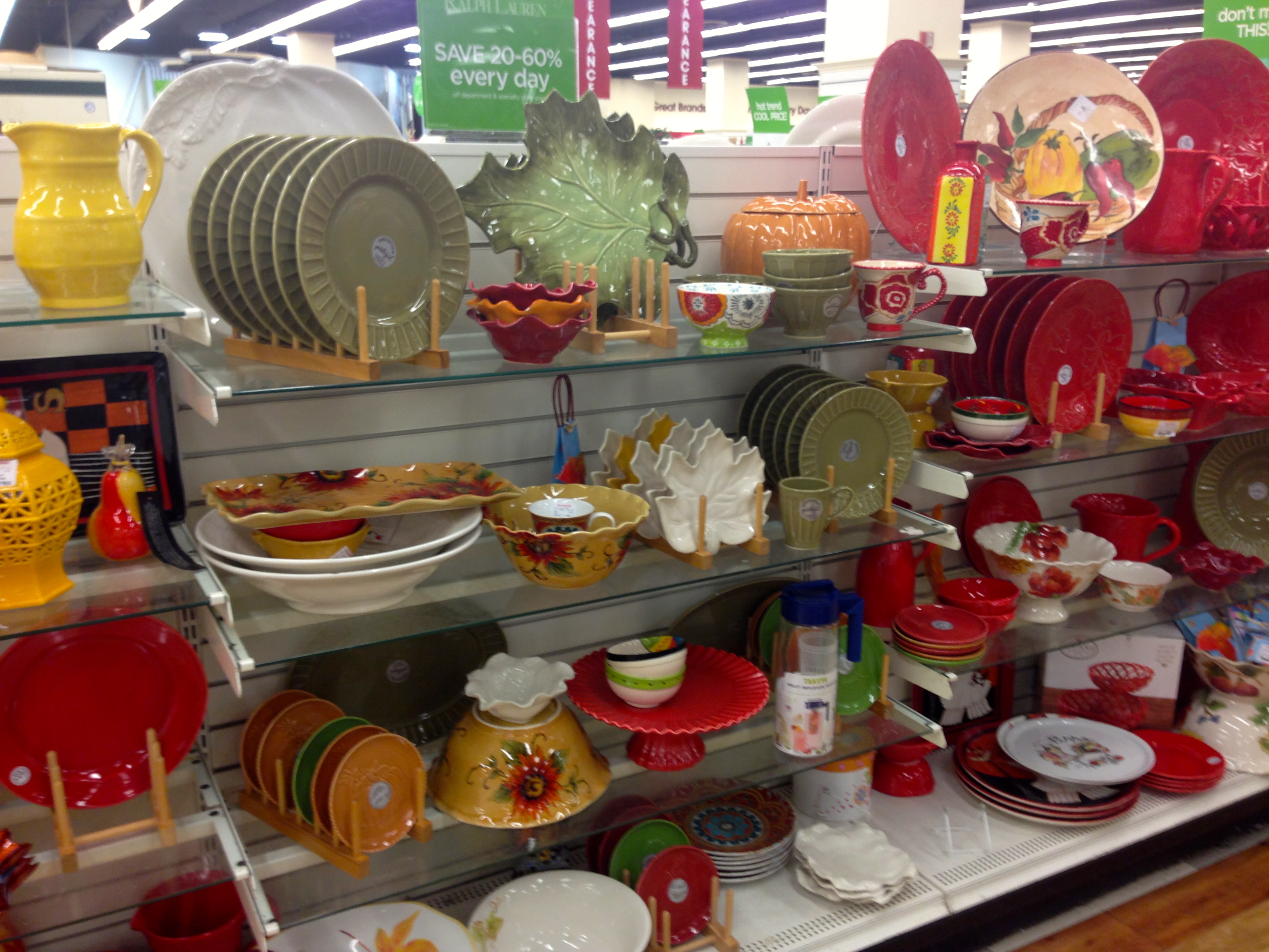 Halloween at homegoods our cape on cabot road for Home goods fall decorations